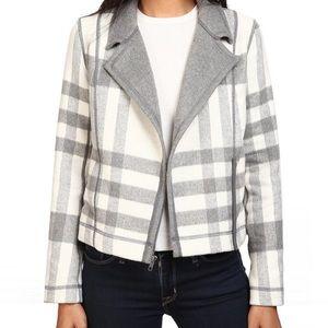 Michael Stars moto jacket, size Medium